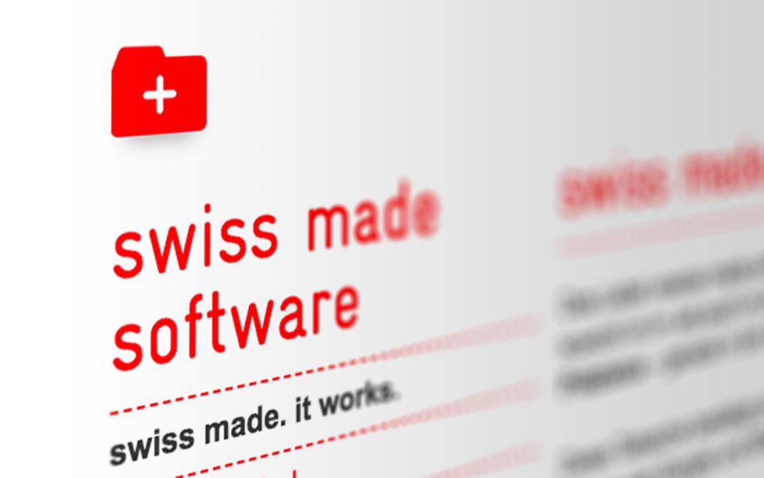 Schweizer Qualität bei Pfefferstern. Wir erhalten das Swiss Made Software und Hosting Label.